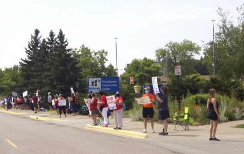 Protests raise questions about district back to school plan
