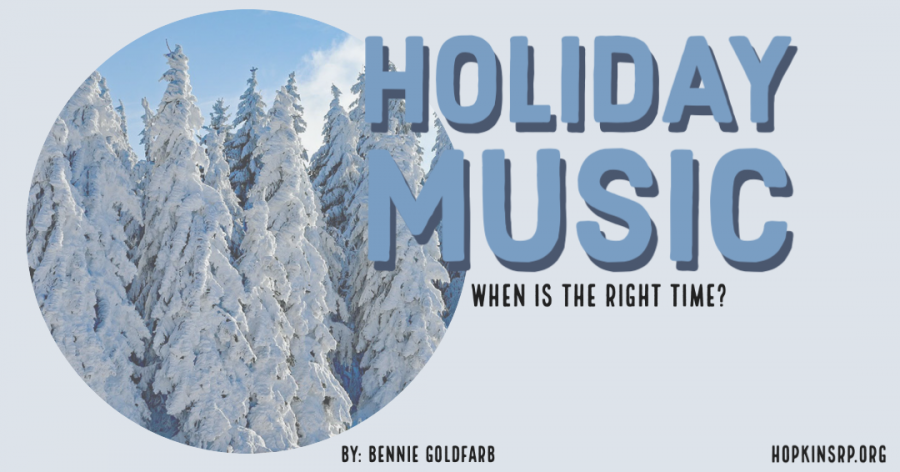 When is the right time to start listening to holiday music?