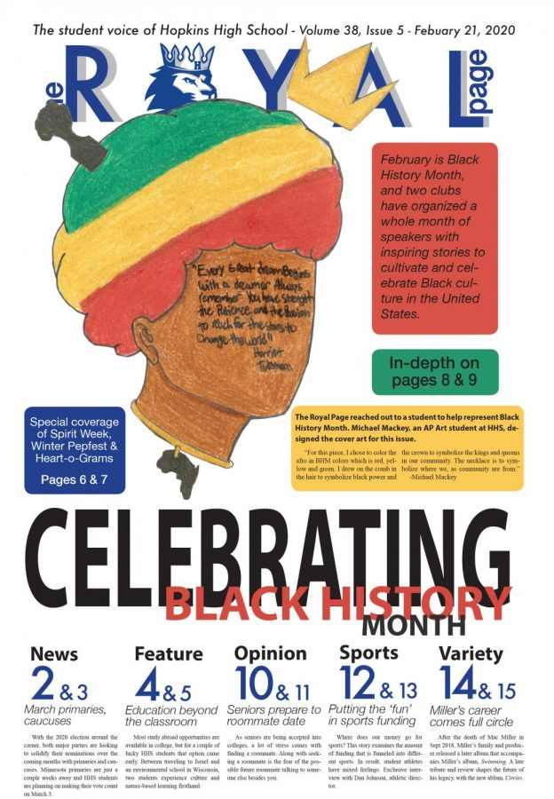 The Royal Page Print Edition: Celebrating Black History Month - Volume 38, Issue 5
